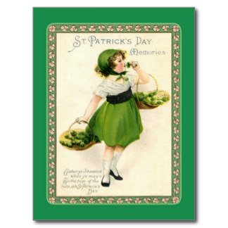 St Paddy Card